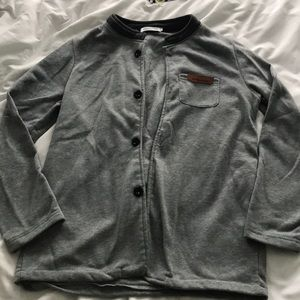 Other - Mens grey button cardigan